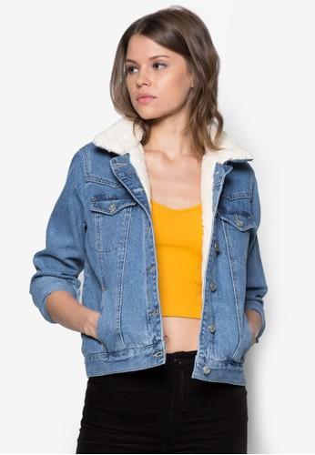 Moto Botopshop 包rg 復古丹寧外套, 服飾, 服飾