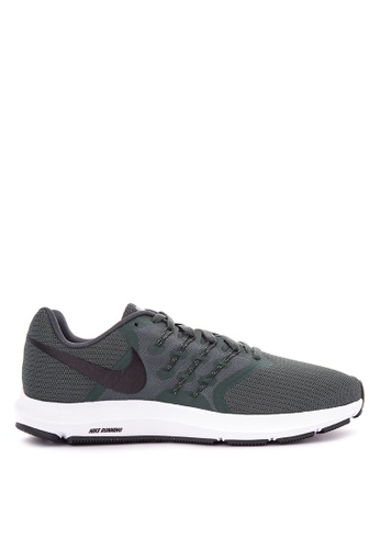 Nike black and green Men's Nike Run Swift Running Shoes NI126SH0KANKPH_1