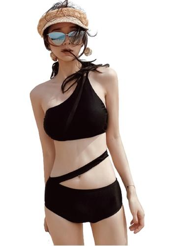 Halo black Black Sexy Swimsuit Bikini CE0DDUS9C8E2D4GS_1