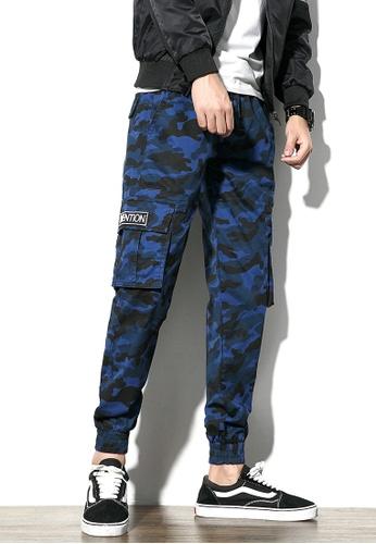 hk-ehunter blue Men's Camouflage Pants 729A2AAC5FFA9CGS_1