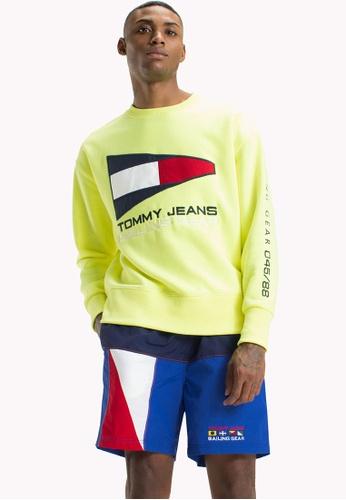 Tommy Jeans multi TJM 90s SAILING LOGO NEON CREW 89D71AAE74C2C9GS_1