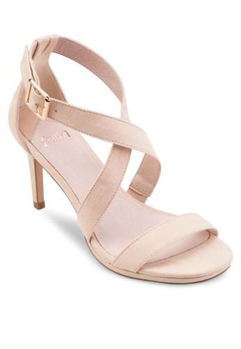 交叉踝帶高跟涼鞋esprit 折扣, 女鞋, 鞋