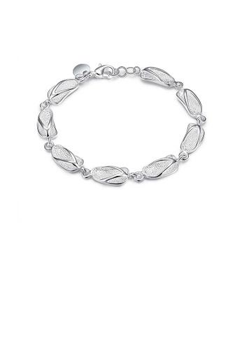 Glamorousky silver Fashion Personality Slippers Bracelet 11C3FACC172350GS_1