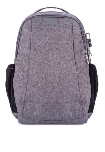 Pacsafe grey Metrosafe LS350 15L backpack CA3FDAC9493288GS_1