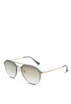 8af472f7c7b Ray-Ban green Ray-Ban RB4292N Sunglasses 96A47GLA83EF6DGS 1