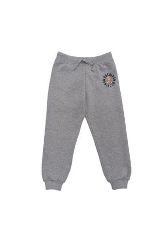 MOSCHINO BABY KID TEEN grey MOSCHINO KIDS LONG PANTS DC1D6KA5446CBCGS_1