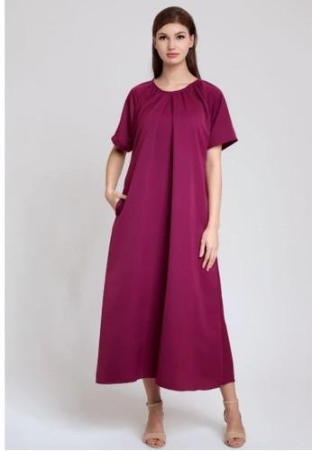caco. purple jessa dress F0AD3AA26EE8F5GS_1