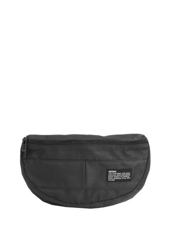 OPTIONS black and white Solar Waist Pouch 6DF96AC7EB4310GS_1