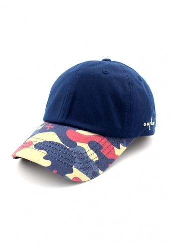 DOSSCAPS navy FLIPPER Thug Military Baseball Cap (Navy) 70A81ACD272D05GS_1