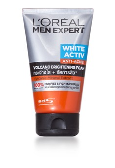 Men Expert White Active Volcano Foam 100ML