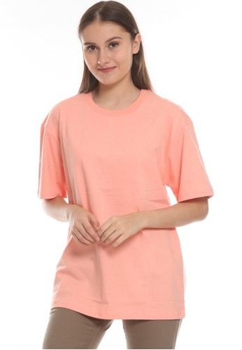Michael Schumacher pink Basic T-shirt Oversized Unisex 4E261AA6AE0553GS_1