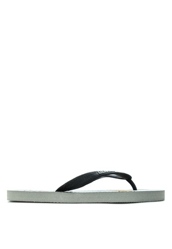 BENCH grey Printed Rubber Slippers BE550SH26LSVPH_1