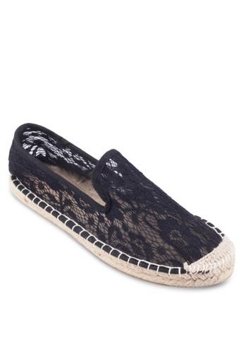 Augusta 蕾絲鉤花麻編懶人鞋esprit outlet, 女鞋, 鞋
