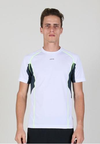 AMNIG white Running T-shirt D94EBAA208EBF7GS_1