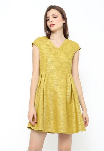 INSTYLE BY SURI yellow Vonda Dress Mustard 6D8ACAAB11143EGS_1