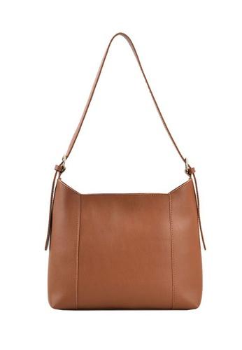Lara brown Women's Capacious Leather Zipper Tote Bag Shoulder Bag - Light Brown 5C513ACA6A6701GS_1