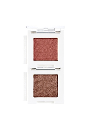 THE FACE SHOP brown (Bundle) Mono Cube Eyeshadow (Glitter)  BR04 + RD01 C2368BEFDB6203GS_1