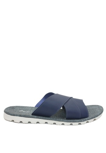 Dr. Kevin navy Dr. Kevin Men Sandals 97202 - Blue 6E458SHDADBA5EGS_1