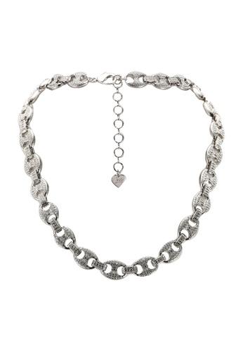 ALDO silver Acalillan Necklace 4039CAC8674BB3GS_1