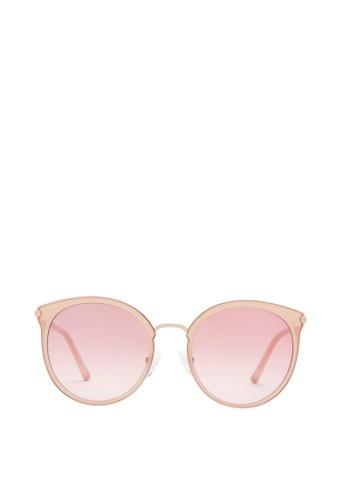 Carin pink and multi and beige Victoria C2 Sunglasses 43D27GLF10E9C1GS_1