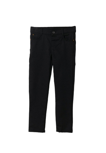 LC Waikiki black Super Skinny Gabardine Trousers for Boys 94EBDKAE362080GS_1