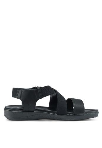 Bata black Sandals & Flip Flops 3A599SH86986FFGS_1
