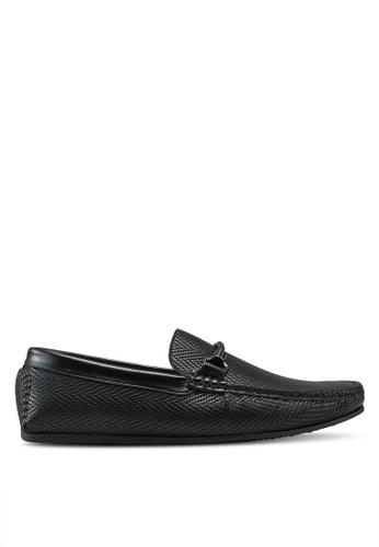 Bata black Slip On Loafers 38685SH7E072F9GS_1