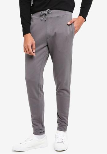 ESPRIT 灰色 Regular Knitted Pants B67FCAADAB97F8GS_1