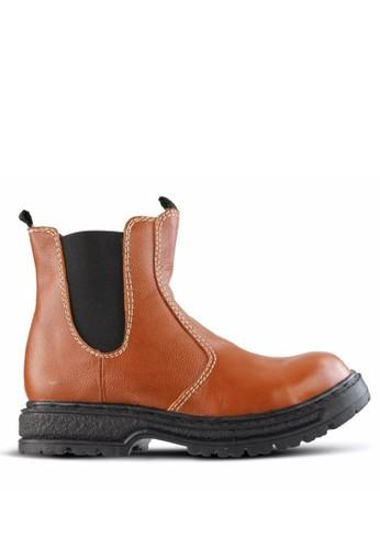 Sogno brown Safety Boot Pria GF.2111 5779BSH7EADFFBGS_1