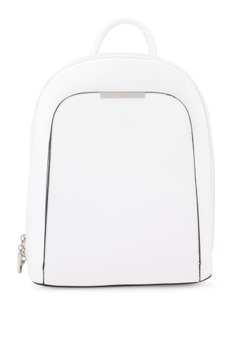 Keddo white Sabara Backpack 4CC46AC700AC4FGS_1