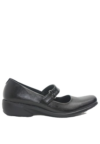 Dr. Kevin black Dr. Kevin Women Dress & Bussiness Formal Shoes 43247 - Black B20E4SH8C81E44GS_1