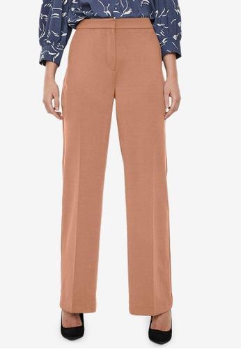 Vero Moda brown Nora High Waist Pants 4935AAA0525DAAGS_1