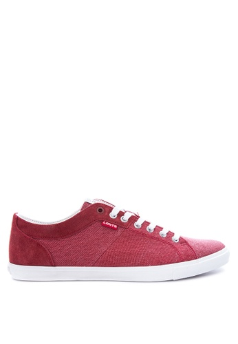 Levi's red Woods Sneakers LE892SH20PTBPH_1