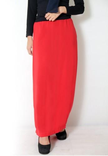 Cullotes Maya Red Skirt CU322AA70TVLID_1