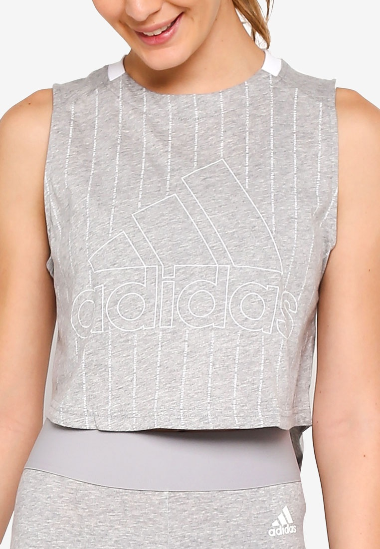 Medium tank sid adidas adidas w White Grey Heather qIw8wOxt