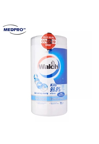 MEDPRO Walch Disinfectant Wipes 75pcs/Bottle (From Germany) 7D266ES3386FFEGS_1