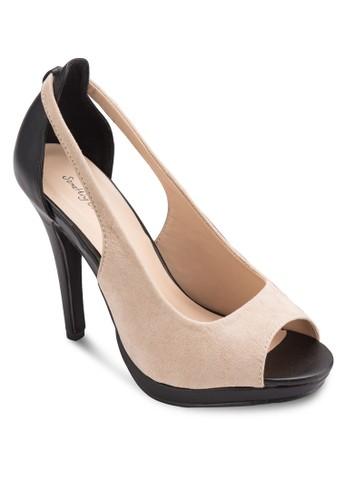 鏤空露趾高跟鞋, esprit 香港女鞋, 知性女強人