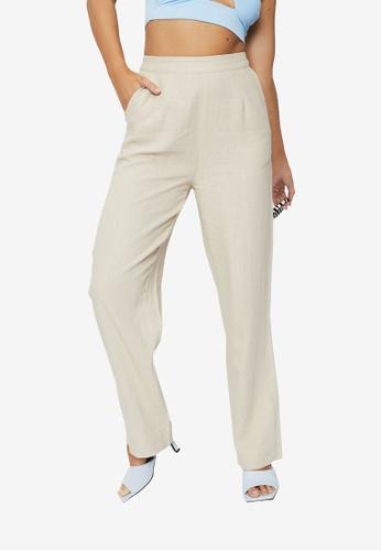 Supre beige Sadie Pull On Pants DB85CAA1144561GS_1