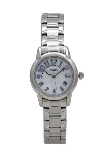 Alba silver ALBA Jam Tangan Wanita - Silver White - Stainless Steel - AXT265 A02F8AC91590CDGS_1