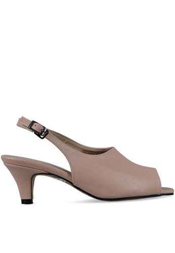 MAYONETTE brown Mayonette Salma Heels - Nude 5BD03SH6E273F4GS_1