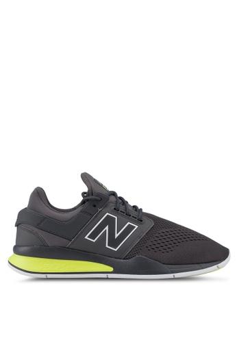 New Balance grey 247 Lifestyle Tritium Shoes 7085CSH736706BGS_1
