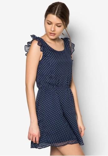 Fzalora 男鞋 評價lared Skirt Dress, 服飾, 服飾