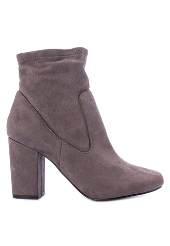 Berca Shoe Store grey Suede Ankle Boots 11694SH71DDD9CGS_1