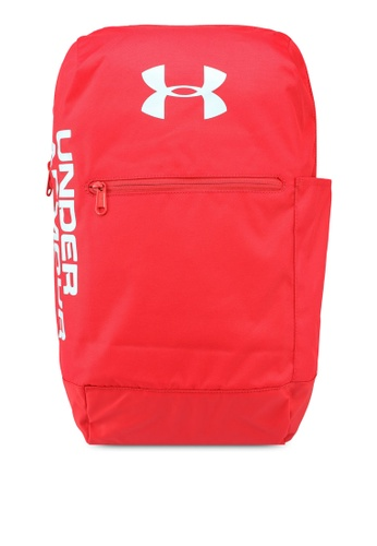 Under Armour red UA Patterson Backpack C1F8AAC32DDADCGS_1