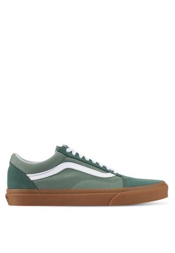 VANS green Old Skool Sneakers VA142SH0SWT3MY_1