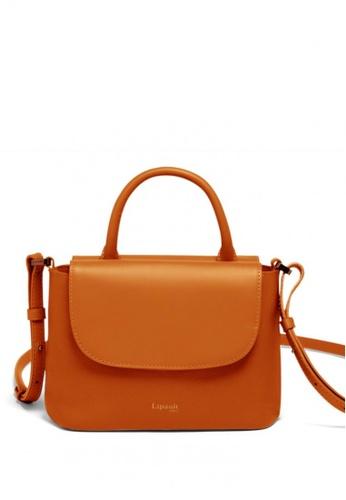 Lipault brown Lipault Plume Elegance Mini Handle Bag B6B0CACD5CC8E7GS_1