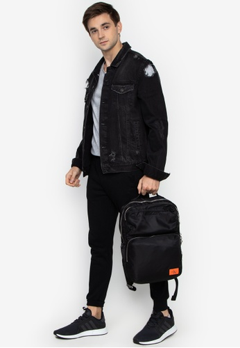 626502f8f0130d Shop Calvin Klein Pilot Twill Square Backpack Online on ZALORA Philippines