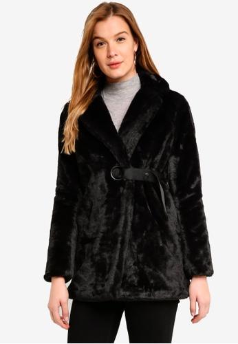 ICHI black Tavana Coat 96AA7AA629C000GS_1