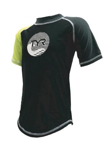 TYR green TYR Olas Junior Short Sleeve Guard 10AD5KA0FB85F7GS_1