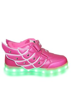 Deluxe 55151A Elegant Fashion LED Lighting Rubber Shoes